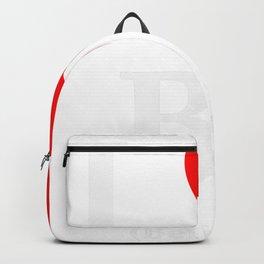 I love BJ - The cult shirt white Backpack