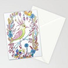 exotic bird Stationery Cards