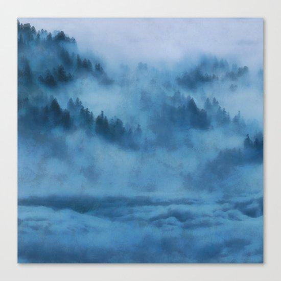 Forest Above the Clouds Canvas Print