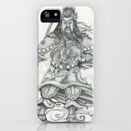 Gwan Gong iPhone Case