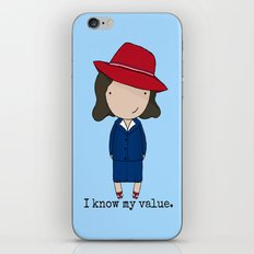 Agent Carter iPhone & iPod Skin