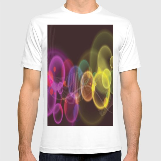 Rainbow Bubbles Design T-shirt