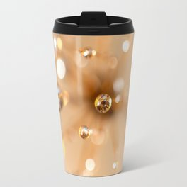Queen Anne's Lace in Gold Travel Mug