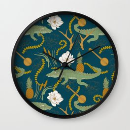 Down South Wall Clock