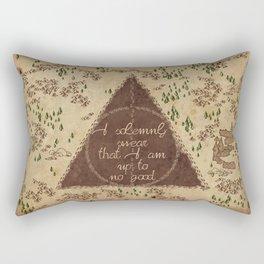Marauder's Map - I Solemnly Swear Rectangular Pillow