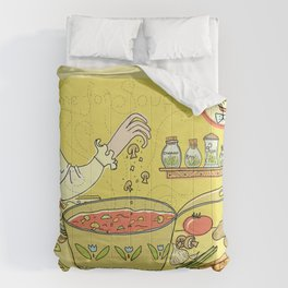 Time For Soup Comforters