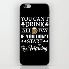 drink iPhone Skin