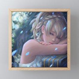 Final Fantasy XV - Lunafreya Framed Mini Art Print