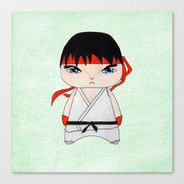 A Boy - Ryu Canvas Print