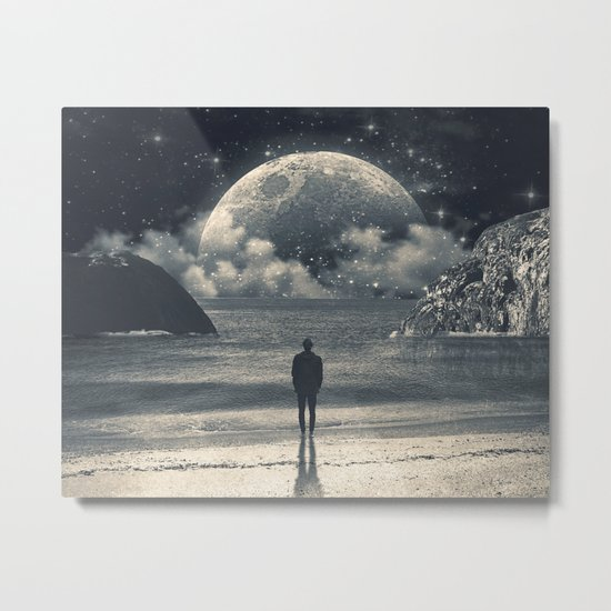 Meeting with her Metal Print