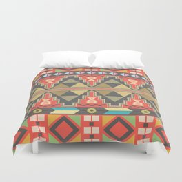 Aztec Flame Duvet Cover