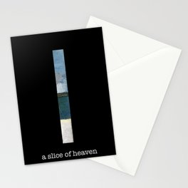 a slice of heaven Stationery Cards