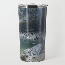 Waterfall in Austin, Texas Travel Mug