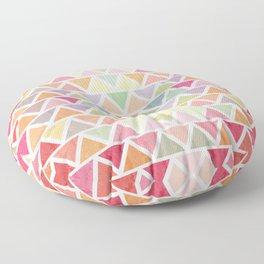 Lovely geometric Pattern III Floor Pillow