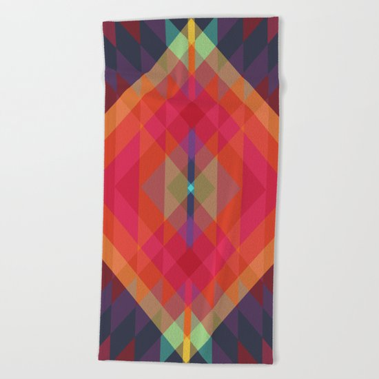 Tribal VIII Beach Towel