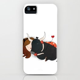 Embrace the Bull iPhone Case