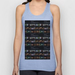 Lives In A Beetlebum Blurry House Unisex Tank Top