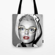 Marilyn M. Large Size Portrait #11 Tote Bag