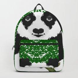 Geometric Panda Backpack