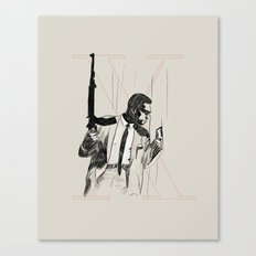 By any means necessary Canvas Print