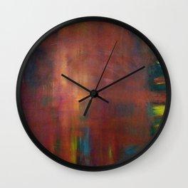 Color Quadrant Wall Clock