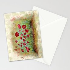 poppy island Stationery Cards