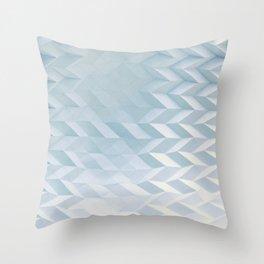 Origami tessellation Throw Pillow