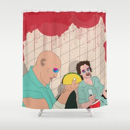 Natural Born Tacos Shower Curtain