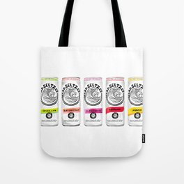 White Claw illustration Tote Bag