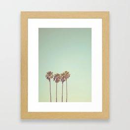 California Dreams Framed Art Print