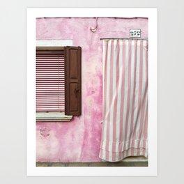 Doorway Series / Burano, Italy / 001 Art Print