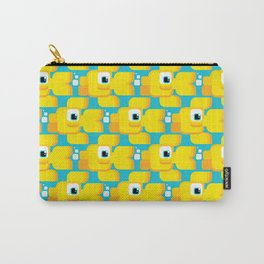 A happy bunch of goldfish swimming and blowing bubbles! Carry-All Pouch