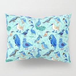 Blue Birds Pillow Sham