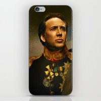 replaceface iPhone & iPod Skins featuring Nicolas Cage - replaceface by replaceface