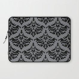 Vintage Damask Brocade Sharkskin Laptop Sleeve
