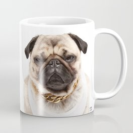 Muscle Pug Coffee Mug