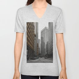 Financial District Unisex V-Neck