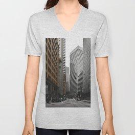 Financial District Unisex V-Neck