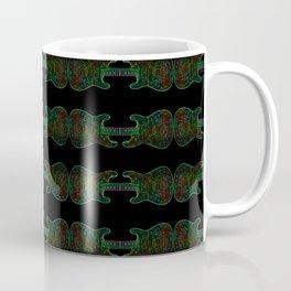 Neon Guitars Coffee Mug