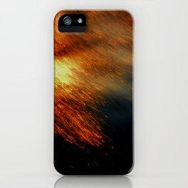 Fiery iPhone Case