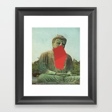 enlightenment with fries Framed Art Print