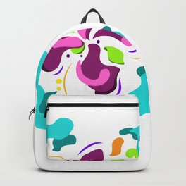 Flower power green lover Backpack