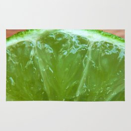 Lime Green and Fresh Rug