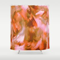 pumpkin Shower Curtains featuring Pumpkin by Patty Weiler