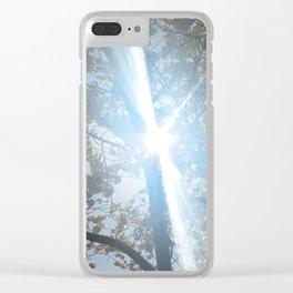 Sunbeam Clear iPhone Case