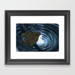 """""""Owl Sees Owl"""" Owl sees himself Framed Art Print"""
