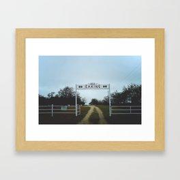 Eakins Framed Art Print