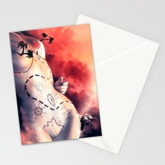 Coeur de prirate Stationery Cards