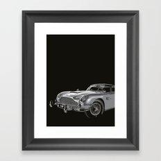 THE Bond Car. Framed Art Print