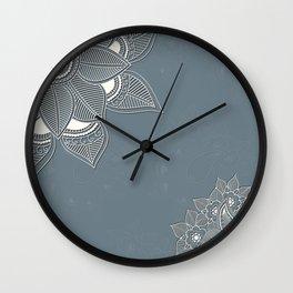 White sun. Wall Clock